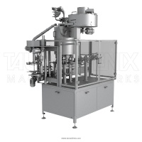 NEW FILLING MACHINE FOR SMALL DAIRY PLANTS AND FARMS